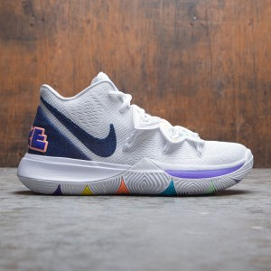 Nike Men Kyrie 5 (white / deep royal blue-glacier blue)