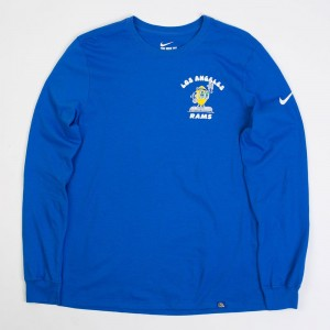 BAIT Exclusive Nike X Steve Harrington X Nfl Men Rams Sweater (blue / game royal)