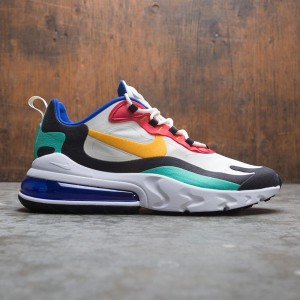 Nike Men Air Max 270 React Bauhaus Art (phantom / university gold-university red)