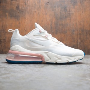 Nike Men Air Max 270 React (summit white / ghost aqua-phantom)