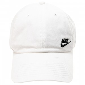 Nike Men Sportswear Heritage 86 Adjustable Hat (white / black)