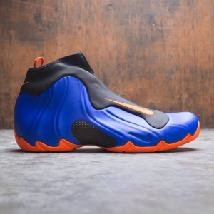 Nike Men Air Flightposite (racer blue / total orange-black)