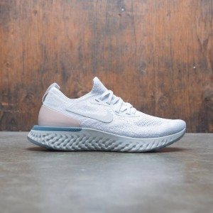 Nike Women Epic React Flyknit (pure platinum / pure platinum)