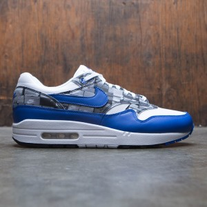 Nike Men Air Max 1 Atmos Print (white / game royal-neutral grey)