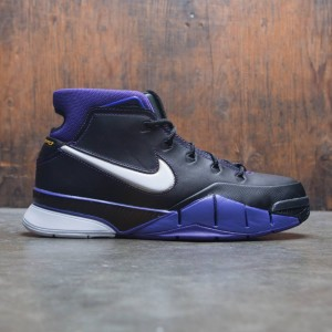 Nike Men Kobe 1 Protro (black / white-varsity purple)