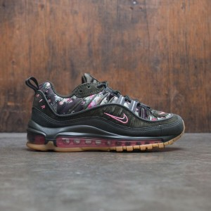 Nike Women Air Max 98 Camo (sequoia / metallic black-sunset pulse)