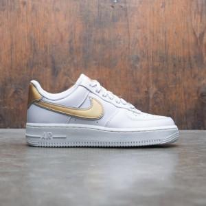 Nike Women Air Force 1 '07 Metallic (vast grey / metallic gold-summit white)