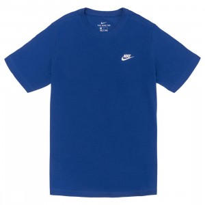 Nike Men Sportswear Club Tee (astronomy blue / white)