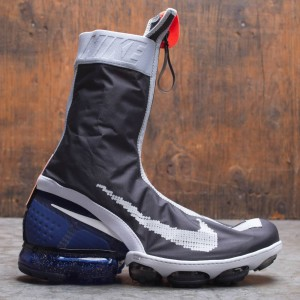 Nike Men Air Vapormax Flyknit Gaiter Ispa (black / black-white-deep royal)