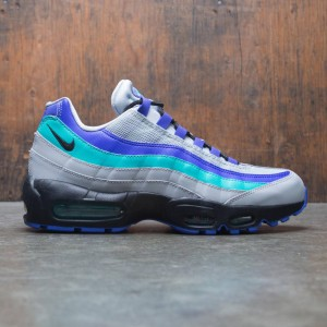 Nike Men Air Max 95 Og (wolf grey / black-indigo burst-hyper jade)