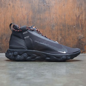 Nike Men React Mid Wr Ispa (black / white-anthracite-total crimson)