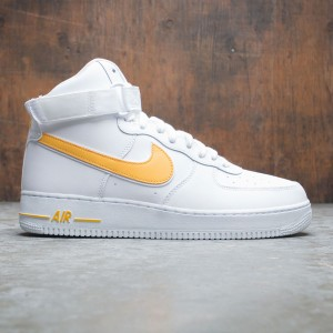Nike Men Air Force 1 High '07 3 (white / university gold)