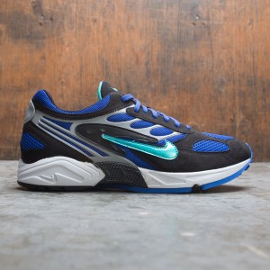 Nike Men Air Ghost Racer (black / hyper jade-racer blue-wolf grey)