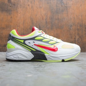 Nike Men Air Ghost Racer (white / atom red-neon yellow-dark grey)
