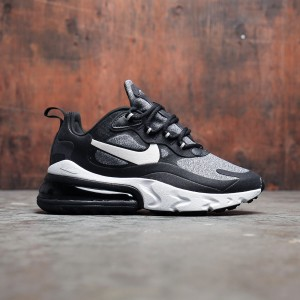 Nike Women Air Max 270 React (black / vast grey-off noir)