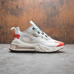 Nike Women Air Max 270 React (lt beige chalk / platinum tint)
