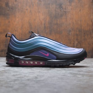Nike Men Air Max 97 Lx (black / laser fuchsia-thunder grey)