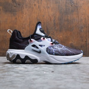 Nike Men React Presto (black / black-white-university blue)