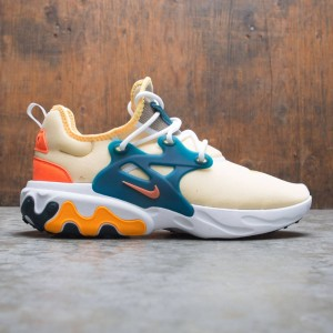 Nike Men React Presto (pale vanilla / hyper crimson-midnight turq)
