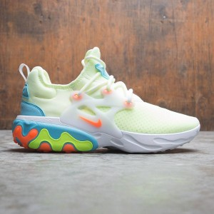 Nike Men React Presto (barely volt / hyper crimson-blue gaze-volt)