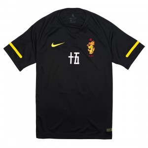 Nike X Clot Men Jersey (black / tour yellow)