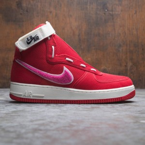 Nike Men Air Force 1 High / Eu (team red / sail-pink blast)