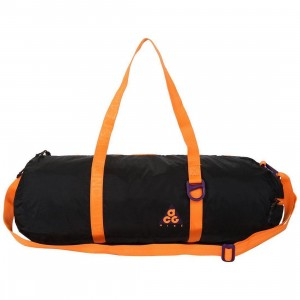 Nike Men Nk Acg Packable Duffle Bags (night purple / black / bright mandarin)