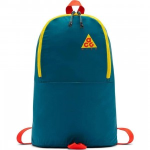 Nike Men Nk Acg Packable Backpack (geode teal / geode teal / habanero red)