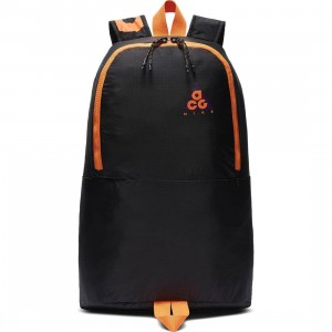 Nike Men Nk Acg Packable Backpack (night purple / black / bright mandarin)