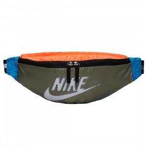 Nike Men Sportswear Heritage Waist Bag (jade stone / hyper crimson / white)