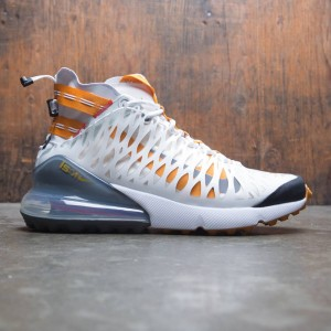 Nike Men Air Max 270 Ispa (white / ghost aqua-amber rise-lt crimson)