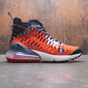 competitive price 19533 765e8 coupon code for nike men air max 270 ispa blue void black terra orange  oatmeal 5222a