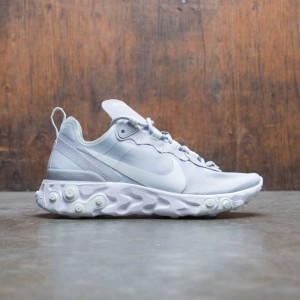 Nike Women React Element 55 (wolf grey / ghost aqua-white)