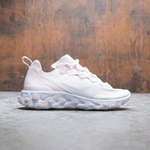 Nike Women React Element 55 (pale pink / white-white-pale pink)