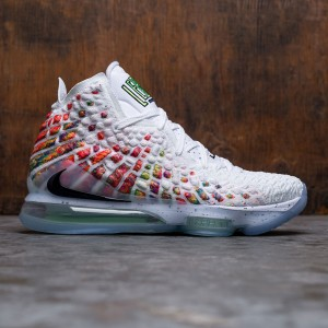 Nike Men Lebron 17 (white / black-multi-color)