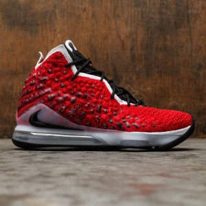 Nike Men Lebron 17 (university red / white-black)
