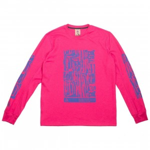 Nike Men Nrg Acg Waffle Top Long Sleeve Tee (rush pink)