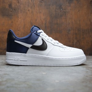Nike Men Air Force 1 07 Lv8 (midnight navy / white-black-white)