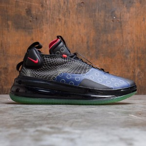 Nike Men Air Max 720 Waves (blue void / red orbit-black-lab green)