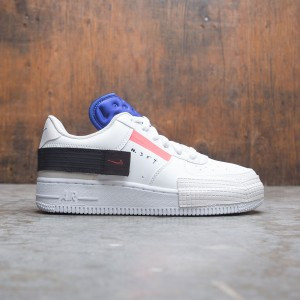 Nike Big Kids Air Force 1 Type (summit white / red orbit-white)