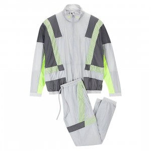 Nike x Clot Men Nrg Track Suit Pack By Edison Chen (wolf grey / dark grey / volt)