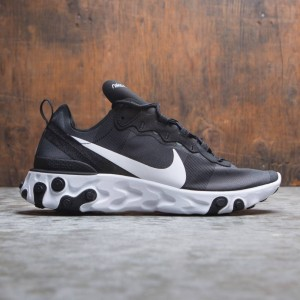 Nike Men React Element 55 (black / white)