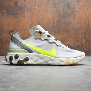 Nike Men React Element 55 (spruce aura / volt-spruce fog-barely volt)
