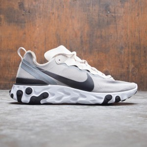 Nike Men React Element 55 (lt orewood brn / black-white-cool grey)