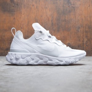 Nike Men React Element 55 Se (white / pure platinum)