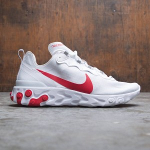Nike Men React Element 55 Se (white / university red)