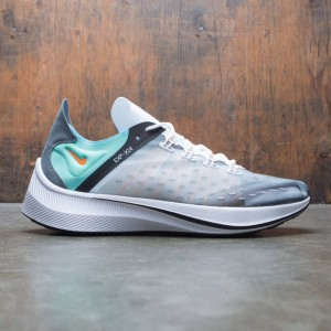 Nike Men Exp-X14 Qs (white / emerald rise-cone-blue chill)