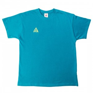 Nike Men Acg Logo Tee (bright spruce / university gold)