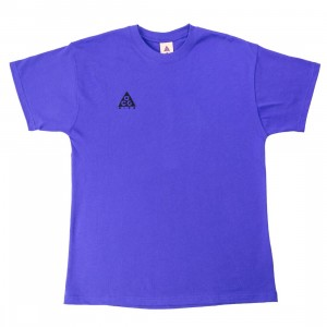 Nike Men Acg Logo Tee (fusion violet / black)