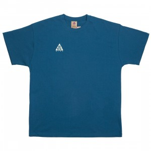 Nike Men Nrg Acg Logo Tee (blue force / barely volt)